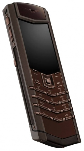 Ремонт телефона Vertu Signature S Design Red Gold Brown Leather