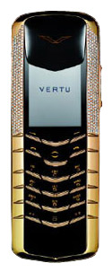 Ремонт телефона Vertu Signature Yellow Gold Half Pave Diamonds